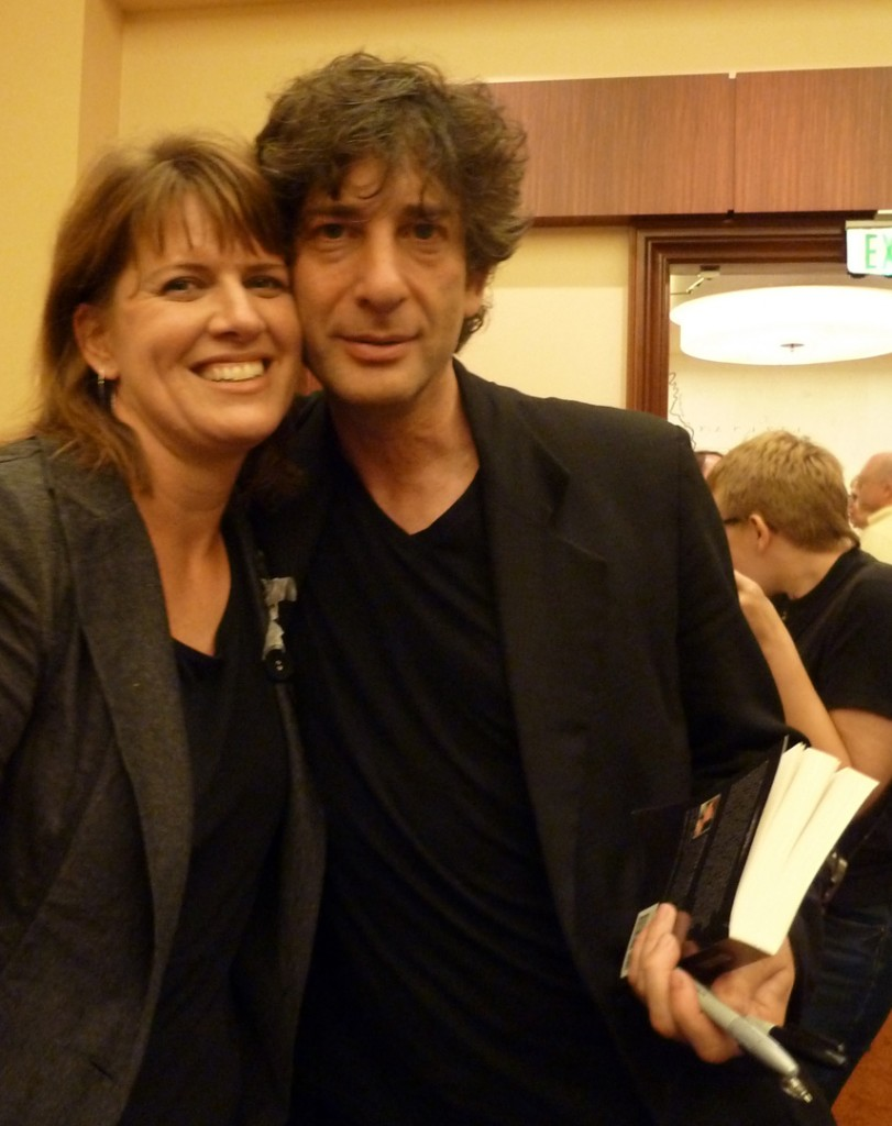 Neil Gaiman Shawnee Small Mason Awards 2012